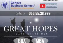 GENEVA BUSINESS SCHOOL, BBA / MBA