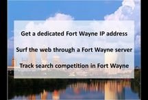 Fort Wayne IN Private Proxies / Fort Wayne is a city in the U.S. state of Indiana and the seat of Allen County. Located in northeastern Indiana, the city is 18 miles west of the Ohio border and 50 miles south of the Michigan border