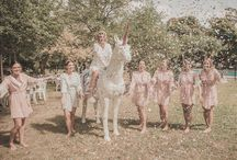 SH BRIDE: MARIKA & WILL / When female event planner and future husband collide, the wedding naturally becomes a full-scale affair. Melbourne based Marika pulled out all the stops; the cake, the decorations and of course – her own unicorn. Featured on Ivory Tribe, Photographed by Mr Wigley.