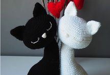 crochet cats / knitting cats / cats DYI