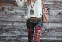 Rock chic pants