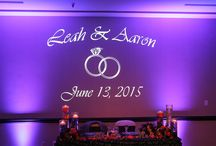 Monograms - Gobos / Lighting, Monograms for wedding and events