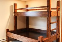 Bunk Bed Ideas / I plan to build a bunk bed for myself and this is just inspiration