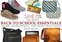 Vegan Back to School Picks / From vegan shoes, to vegan messenger bags; everything you need to start off the school year right.