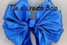how to tie a bow / by Rae Nell Marlowe