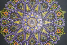 Lovely Mandalas }{ / Mandalas, relaxing coloring, adult coloring