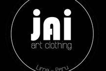 JAI.art clothing / JAI es una marca franco-peruana de ropa y accesorios que busca promover el arte fuera de ámbitos tradicionales.