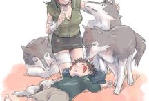 Kiba and Hana
