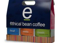 Ethical Bean Fairtrade Coffee Packaging / Ethical Bean has 8 varieties of fairtrade certified, organic coffee and here's some of our latest packaging design.