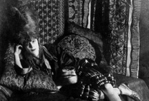 """Marchesa Luisa Casati /  """"I want to be a living work of art"""" -   Luisa Casati, was an Italian heiress, muse, and patroness of the arts in early 20th-century Europe known for her eccentricities. A celebrity and femme fatale, the Marchesa's famous eccentricities dominated and delighted European society for nearly three decades. (italian, 23 January 1881 – 1 June 1957)"""