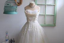 1950 wedding dress / by Linda Himes
