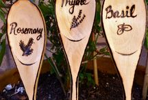 Herb/plant markers