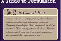 A guide to persuasion / a guide