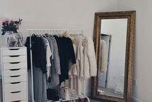 Open Clothing Rack