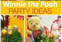 Pooh Party Ideas / プーさんをテーマにしたパーティー演出アイデア・飾り付け