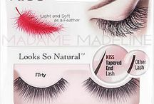 Kiss® Looks So Natural Lashes / KISS Looks So Natural lashes, made with a revolutionary technology that creates tapered ends, blend seamlessly with natural lashes. Significantly lighter in weight than traditional lashes, the wearer can barely feel them on; 97% of women who wore these lashes felt the difference! These feathery, soft lashes are available in various styles, from natural to dramatic looks. Available at https://www.madamemadeline.com/online_shoppe/products.asp?cat=Looks+So+Natural+Lashes+by+KISS