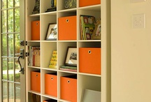 Organised storage. / Hide all those imperfections.....gorgeously!