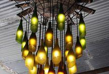 Lampade fai da te / Con bottiglie, di carta e con oggetti in disuso. Le lampade fai da te originali e creative.