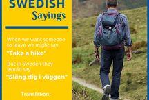 Swedish Sayings