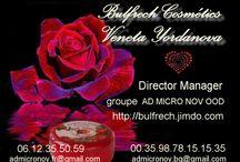 wwww.bulfrech.com / cosmétiques de Bulgarie à l'essence de rose Damascena