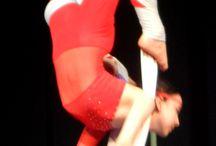 Saggio  / alcuni scatti del saggio 2013 presso la Scuola Nazionale di Circo di Liana Orfei