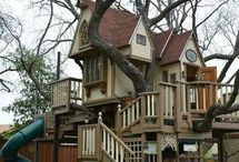 tree house / cubby house ideas