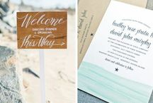Wedding Trends: Destinations! / Inspiration for taking your wedding to another location, most popularly, the beach!