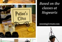 Harry Potter Games and Crafts