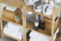 Como organizar muebles de baño