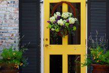 Any Yellow Door will Do