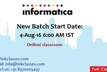 Aug batch start dates by tekclasses