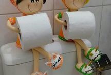 boneka tissue roll