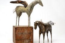 Skulptur / Tredimensjonal kunst i ulike materialer