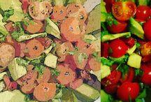 Przepisy wytrawne / Przepisy na wyborne roślinne zapiekanki, tarty, sałatki i inne dania na obiad.