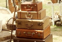 Suitcases / by Andi Hinkle