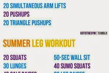 Work it out / Workouts for every body part