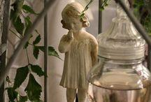 Romantique / Présentation d'ambiances décoratives autour du thème romantique...