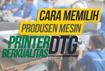 cara memilih produsen mesin printer DTG berkualitas