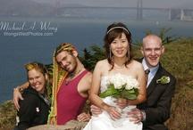 Having Fun  / Fun wedding ceremonies.