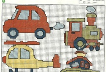 transportation crossstich