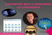 Russ Whitney-Best 10 Things Being an Entrepreneur / Russ Whitney coaching program provides like minded entrepreneurs to reach their goals.