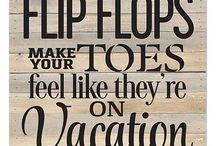For the Love of Flip Flops