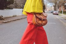 Color-block / by Mysmallwardrobe.com