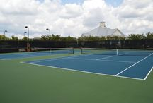 Tennis at The Grove / The tennis courts and amenities that come along with living at The Grove!