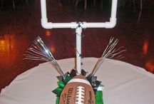 DIY Football Centerpiece Kits / Fun football centerpiece ideas for your next event.