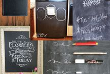 Chalkboards / by Cherie Barlow