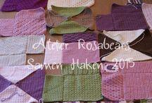 Samen Haken 2015 / Samen een deken haken in 2015. Crochet along 2015