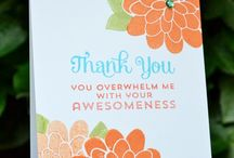 Thank you cards & gifts