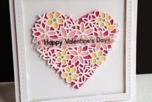 Heart die cut