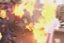 Three Congress Workers Burnt While Burning Effigy Of Narendra Modi